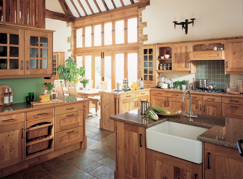 Country Kitchens At Chepstow An Bulwark Monmouthshire South Wales